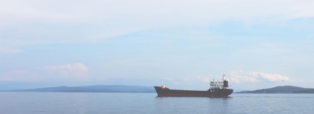 Miljöbild på ett fartyg på vänern.