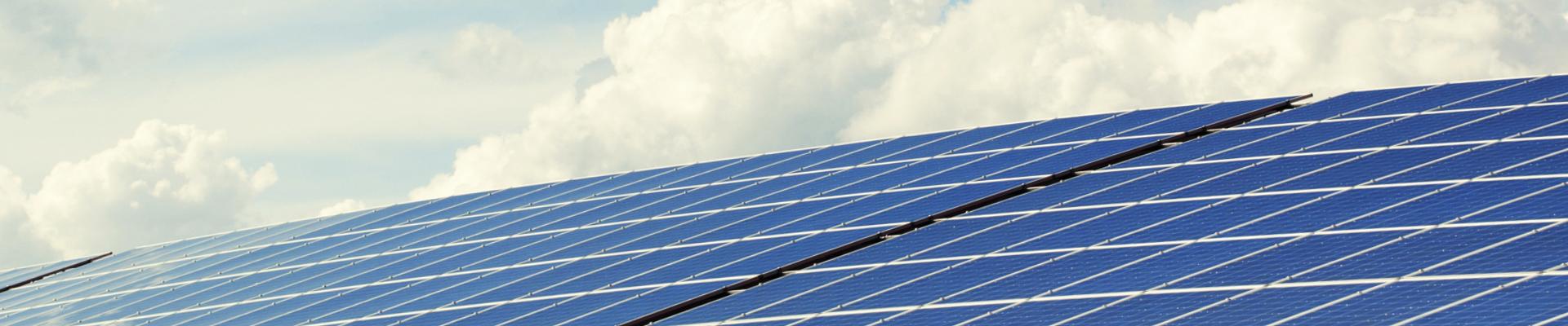Bild på solceller.